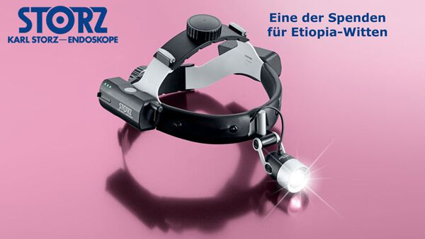 Storz headlight for physcians - donation -